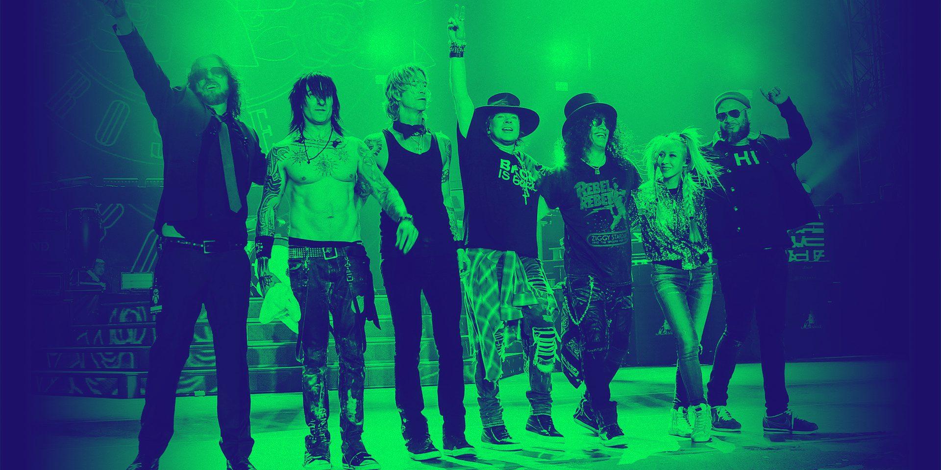 Тур на концерт Guns N' Roses в Москву