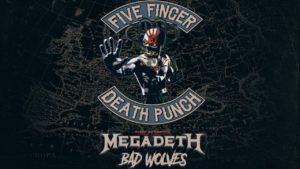 Тур на концерт Five Finger Death Punch и Megadeth из Минска в Варшаву!